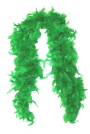 Green Feather Boas