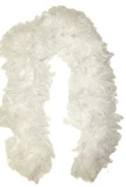 White Feather Boas