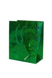 We carry several gift bags and other bags that can be used for St. Patrick's Day parties and celebrations.  Our bag collection includes hologram shopping bags, green gift bags, gold gift bags, and gold draw string bags.
