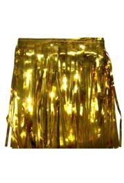 60ft x 12in Gold Metallic Fringe