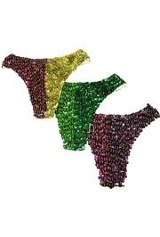 Mardi Gras Sequin Panties