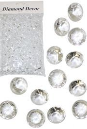 10mm Clear Diamond Stones