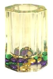 2 3/4in Wide 3 1/2in Tall Liquid Filled Pencil Holder / paper weight / centerpiece