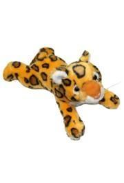 14in Plush Lying Down Tiger