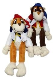 16in Pirate Plush Monkey