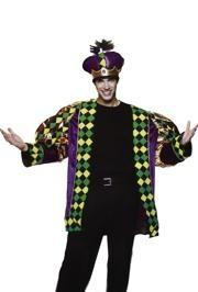 Mardi Gras King Costume