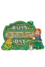 11 1/2in x 16 1/2in Happy ST. Patricks Day Sign