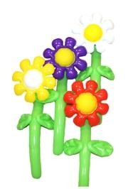 Assorted Inflatable Flowers