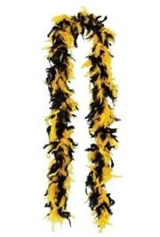 Black/ Gold Feather Boas