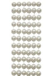 72in 12mm Round Real Pearl Look Beads