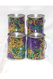 Mardi Gras Party Favor Bucket - Kit of 4 buckets