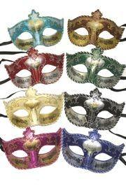 Paper Mache Masks: Assorted Musical Note Venetian Masks