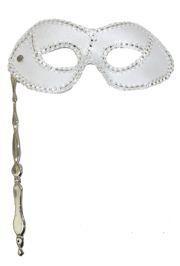 Masks on Sticks: White Lamei