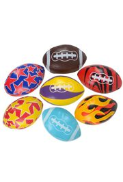 Vinyl Football Assortment