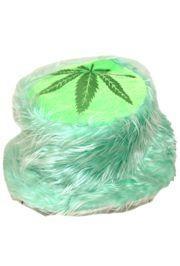 6in Tall Marijuana Furry Hat