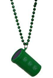 St. Patricks Day Air Blaster Necklace