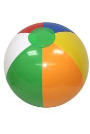 12in Vinyl Inflatable Beach Ball