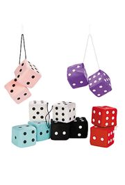Soft Plush Hanging Dice