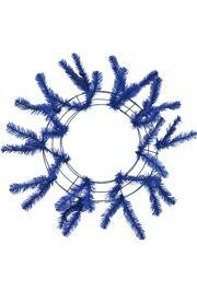 Royal Blue Elevated Work Wreath Form