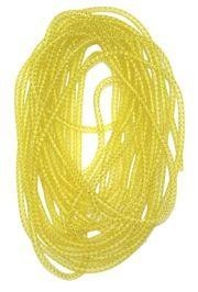 8mm x 15Yd Decor Metallic Mesh Tubing Gold