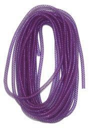 8mm x 15Yd Decor Metallic Mesh Tubing Purple