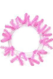 46 Tips Baby Pink Elevated Work Wreath Form