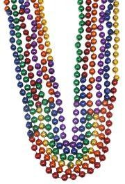10mm 48in Sectional Rainbow Beads