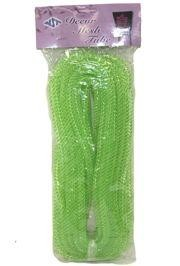 8mm x 15Yd Decor Metallic Mesh Tubing Apple Green