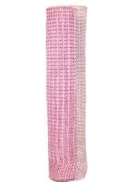 Pink Oasis Mesh Ribbon Netting