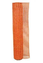 21in x 30ft Metallic Orange Oasis Mesh Ribbon/ Netting