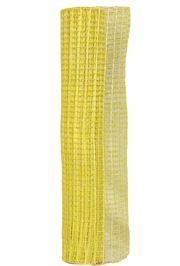 21in x 30ft Metallic Yellow Oasis Mesh Ribbon/ Netting