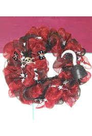 Pirate Mesh Ribbon Wreath