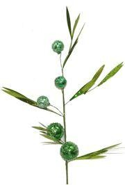 35in Tall Green Stem w/ Balls