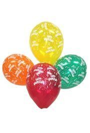 11in All Anniversary Assorted Latex Balloons