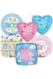 Baby Shower Assorted Mylar Balloons