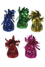 Assorted Color Metallic Balloons Weight