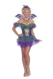 Mardi Gras Fairy Costume/ Mardi Gras Dress