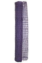 21in x 18ft Organic Jute Purple Decorative Mesh Ribbon