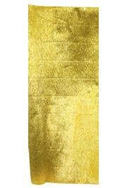 19in x 2.73Yards Metallic Gold Crepe Wrapping Paper