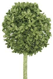 28in Tall Decorative Glittered Lime Green Centerpiece