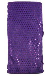 44in x 30ft Purple Material w/ 3mm Spangles