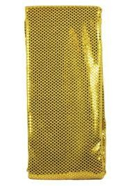 44in x 15ft Gold Material w/ 3mm Spangles