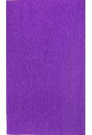 19in x 2.73Yards Purple Crepe Wrapping Paper
