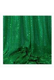 44in x 30ft Green Material w/ 3mm Spangles