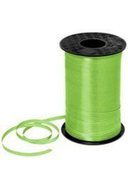 500yd 3/16in Wide Balloons Lime Green Curling Ribbon