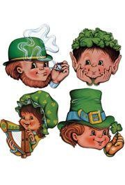 12in St Patricks Cutouts