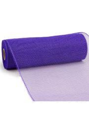 10in Wide x 30ft Long Poly Mesh Roll: Plain Purple