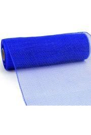 10in Wide x 30ft Long Poly Mesh Roll: Plain Blue