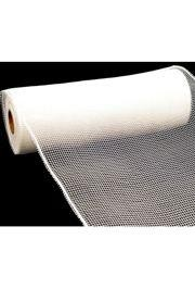10in Wide x 30ft Long Poly Mesh Roll: Plain White