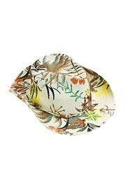 10in x 4 1 2in tall hibiscus print bucket hats